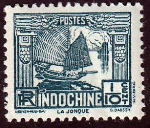 Indochina #158 La Jonque, Unused. MNH