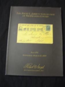 SIEGEL AUCTION CATALOGUE 2009 PROPAGANDA COVERS 'JARRETT' COLLECTION