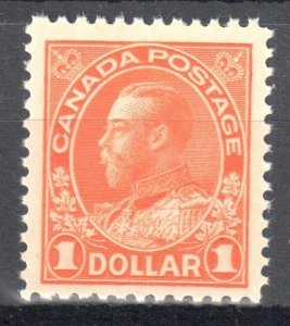 Canada Mint XF NH #122 Dry Printing Admiral -