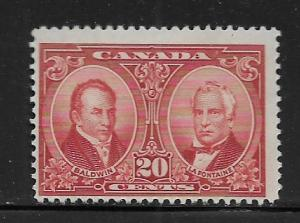 CANADA,148,  MINT HINGED, BALDWIN AND LAFONTAINE