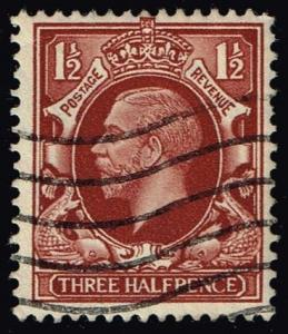 Great Britain #212 King George V; Used (0.45)