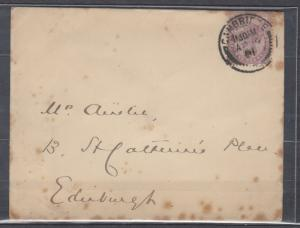 Great Britain - 09.04.1901 QV 1p as single franking on cover -  (5004)