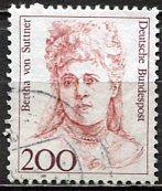 Germany; 1991: Sc. # 1491: O/Used Single Stamp