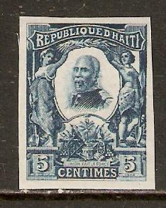 Haiti    #98  MNH imperf  (1904)  c.v. $1.50+