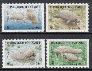 Togo 1444-1447 MNH VF