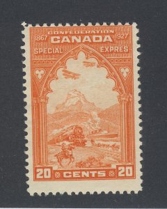Canada Special Delivery Stamp #E3-20c Transportation MNG Guide Value = $35.00