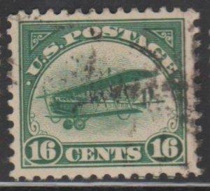 U.S. Scott #C2 Airmail Stamp - Used Single