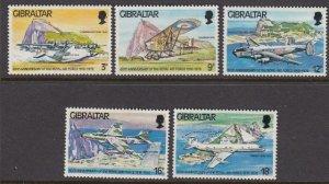 Gibraltar 369-73 RAF mint