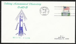 UNITED STATES Space Cover Atlas Centaur Launched c1970 Cape Canaveral Cachet