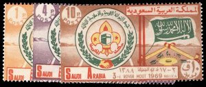 SAUDI ARABIA 607-09  Mint (ID # 95679)