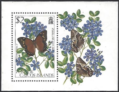Turks & Caicos Islands #511 MNH Souvenir Sheet cv $5