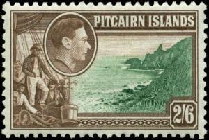 Pitcairn Islands Scott #8 Mint