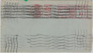 56792 - UPU - USA - POSTAL HISTORY: Machine Postmark PROOF 1929 - VERY RARE!!