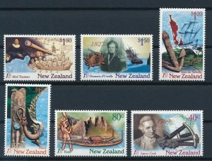 [I347] New-Zealand 1997 Boats good set of stamps very fine MNH