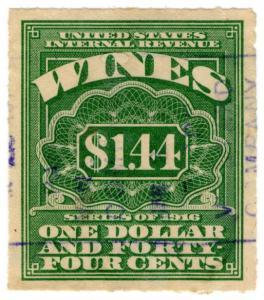 (I.B) US Revenue : Wines Duty $1.44
