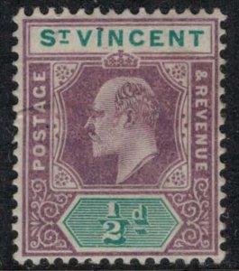 St. Vincent #71*  CV $4.75