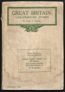 Doyle's_Stamps: Melville's 1910 Great Britain Line Engraved Stamps, 2nd Edition