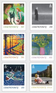 2020 Guernsey Artwork Collection SEPAC (6) (Scott NA) MNH