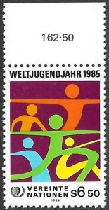 United Nations UN Austria Vienna 1984 Sc # 47 Mint NH. Ships Free With Another