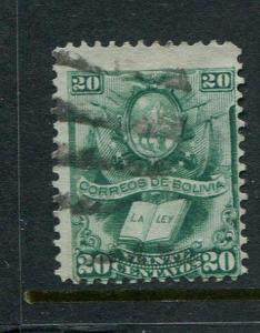 Bolivia #22 Used