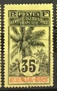 Upper Senegal & Niger #10 Used CDS CV$5.00 Oil Palms