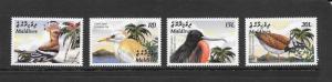 BIRDS - MALDIVES #2751-2754 MNH