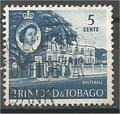 TRINIDAD AND TOBAGO, 1960, used 5c, Whitehall, Scott 91