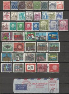 COLLECTION LOT # 06L GERMANY 110 STAMPS CLEARANCE