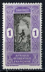Dahomey 1913: Sc. # 42; *+/MLH Single Stamp