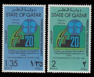 Qatar 583 - 584 MNH