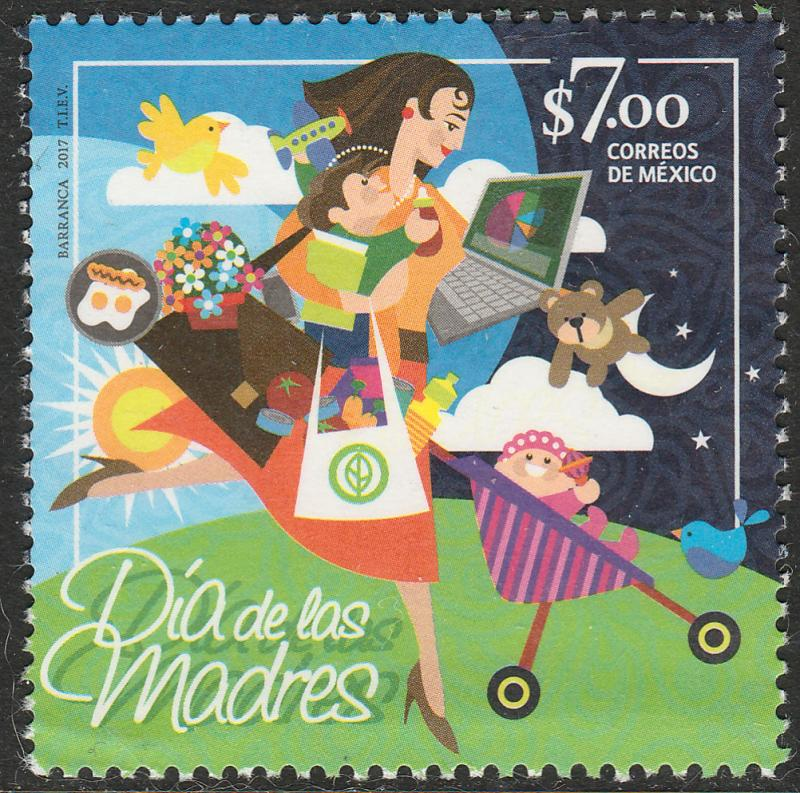 MEXICO 3052, Mothers Day. MNH