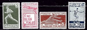 Turkey 855-58 MNH 1940 set some gum sweating and light gum creases    (ap3037)