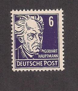 GERMANY - DDR SC# 123 F-VF MNH 1953