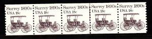 USA PNC SC# 1907 SURREY $0.18c. PL# 13 WATER ACTIVATED PNC5 MNH