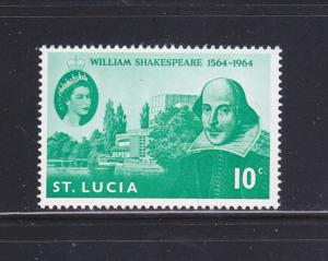St Lucia 196 Set MNH Shakespeare