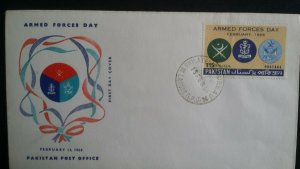 Pakistan 1966 Armed Forces Day First Day Cover FDC