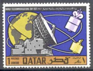 Qatar ~ #244 ~ Satellite Tracking Station ~ MNH