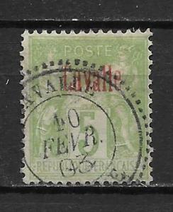 French Offices in Turkey - Cavalle 2 5c single Used