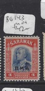 SARAWAK (P1209B)  $4.00   BMA  SG 143  MOG