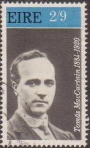 Ireland 1970 SG284 2/9d Irish Patriot Thomas MacCurtain FU
