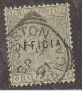 Jamaica Scott #O1 Stamp - Used Single