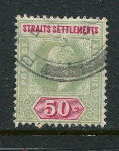 Straits Settlements #121 Used