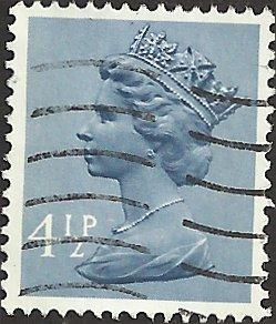 GREAT BRITAIN - MH49 - Used - SCV-0.25