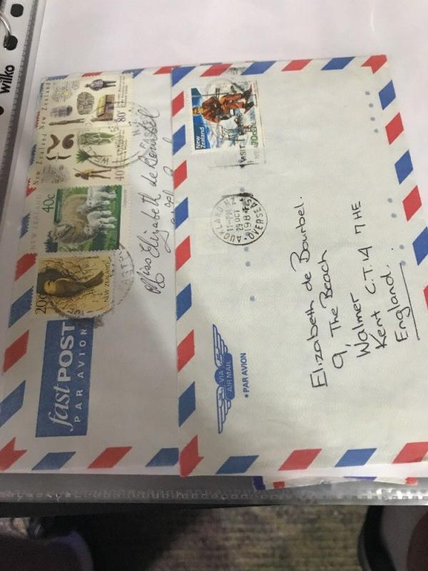 Postal History Collection Strong New Zealand MAY14