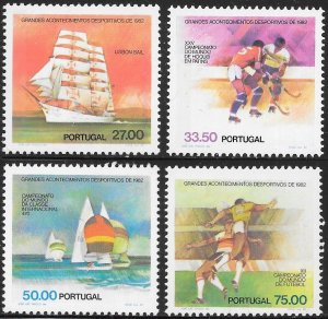Portugal 1532-2535  MNH - Major Sports Events of 1982
