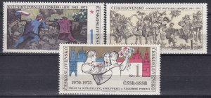 Czechoslovakia #2002-4  MNH  (SU7839)