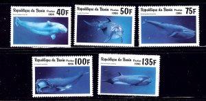 Benin 936-41 MNH 1996 Marine Mammals    (ap1447)