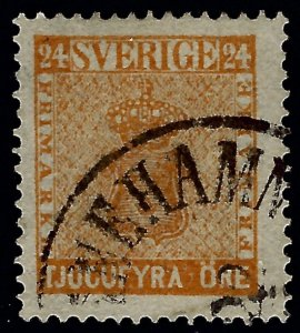 Sweden Attractive Sc#10 Used F-VF Cat $35.00...Sweden is Hot Now!
