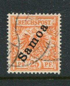 Samoa (German) #55 Used