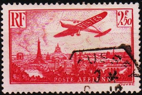 France. 1936 2f50 S.G.537 Fine Used